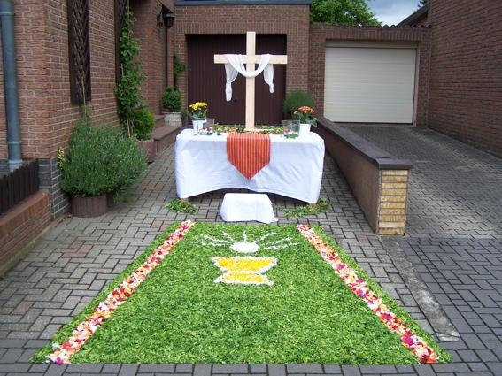 Fronleichnamsfest in Huchem-Stammeln