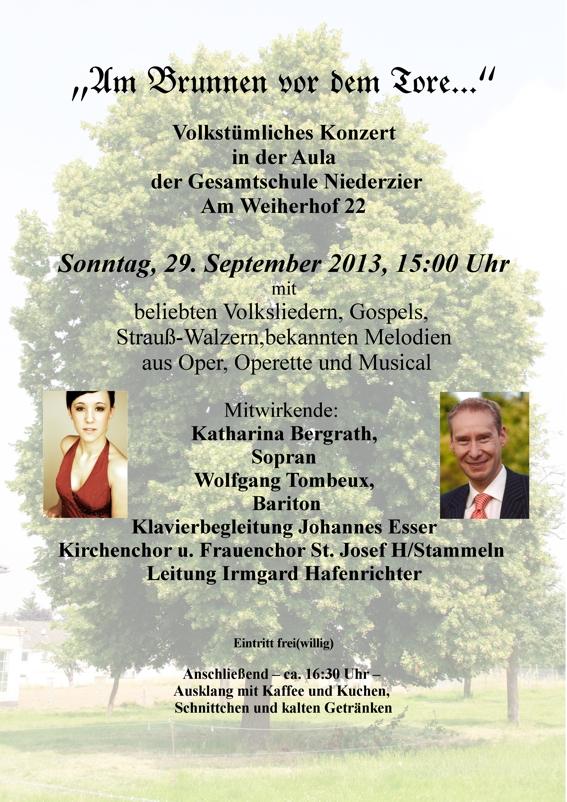 Konzert mit dem Kirchen- und Frauenchor