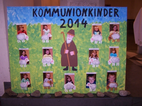 Vorstellung der Erstkommunionkinder 2014