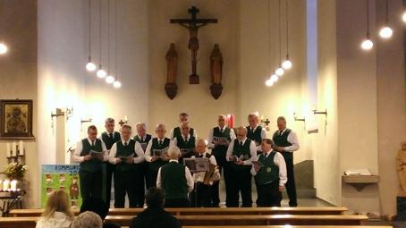 Schützenchor singt Weihnachtslieder