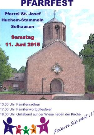 Einladung Pfarrfest und Familienradtour