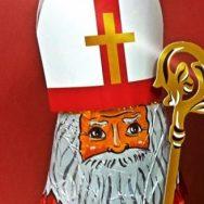 Nikolaus besuchte die Kommunionkinder und Messdiener